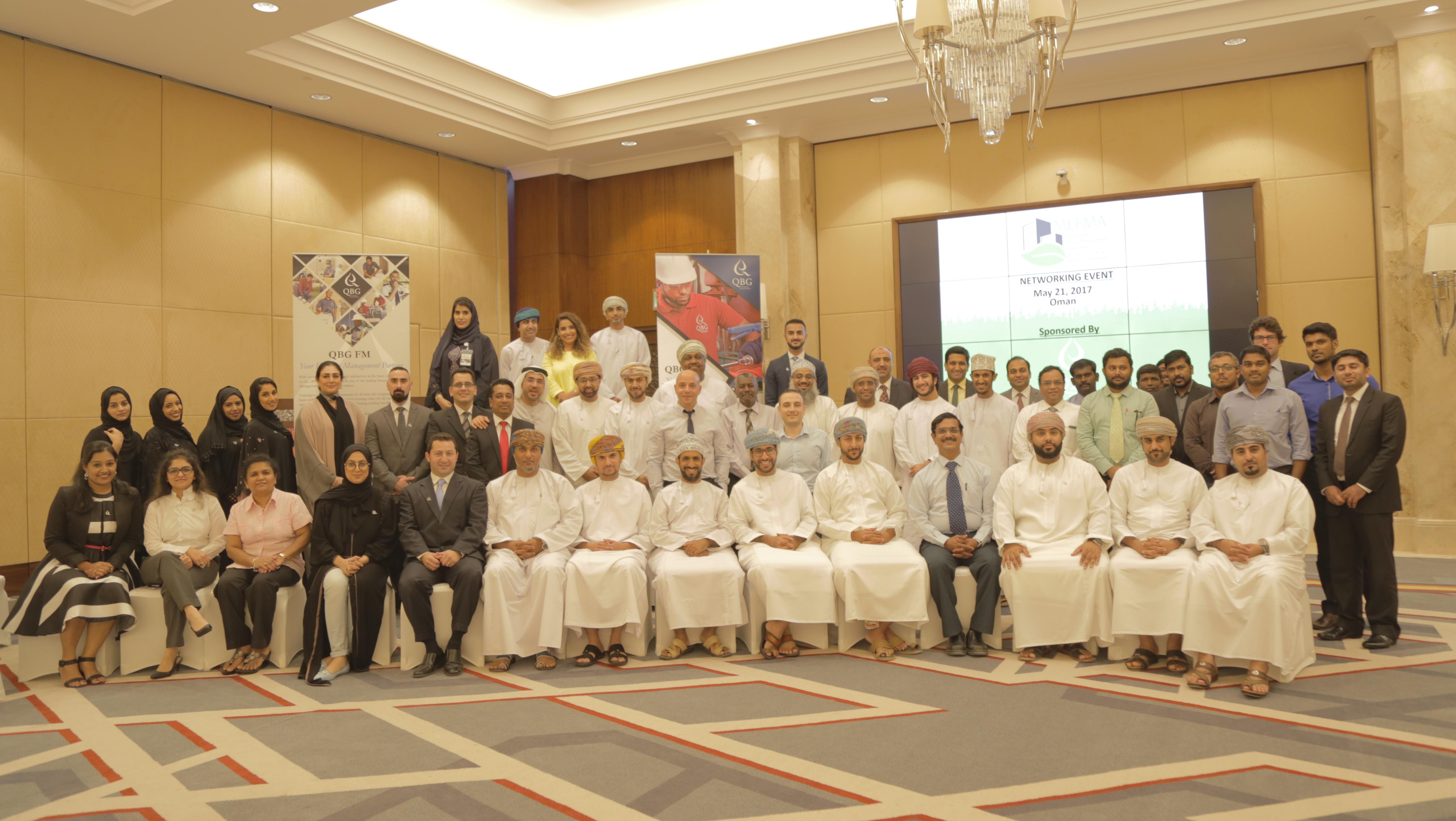 QBG Facilities Management Sponsors MEFMA