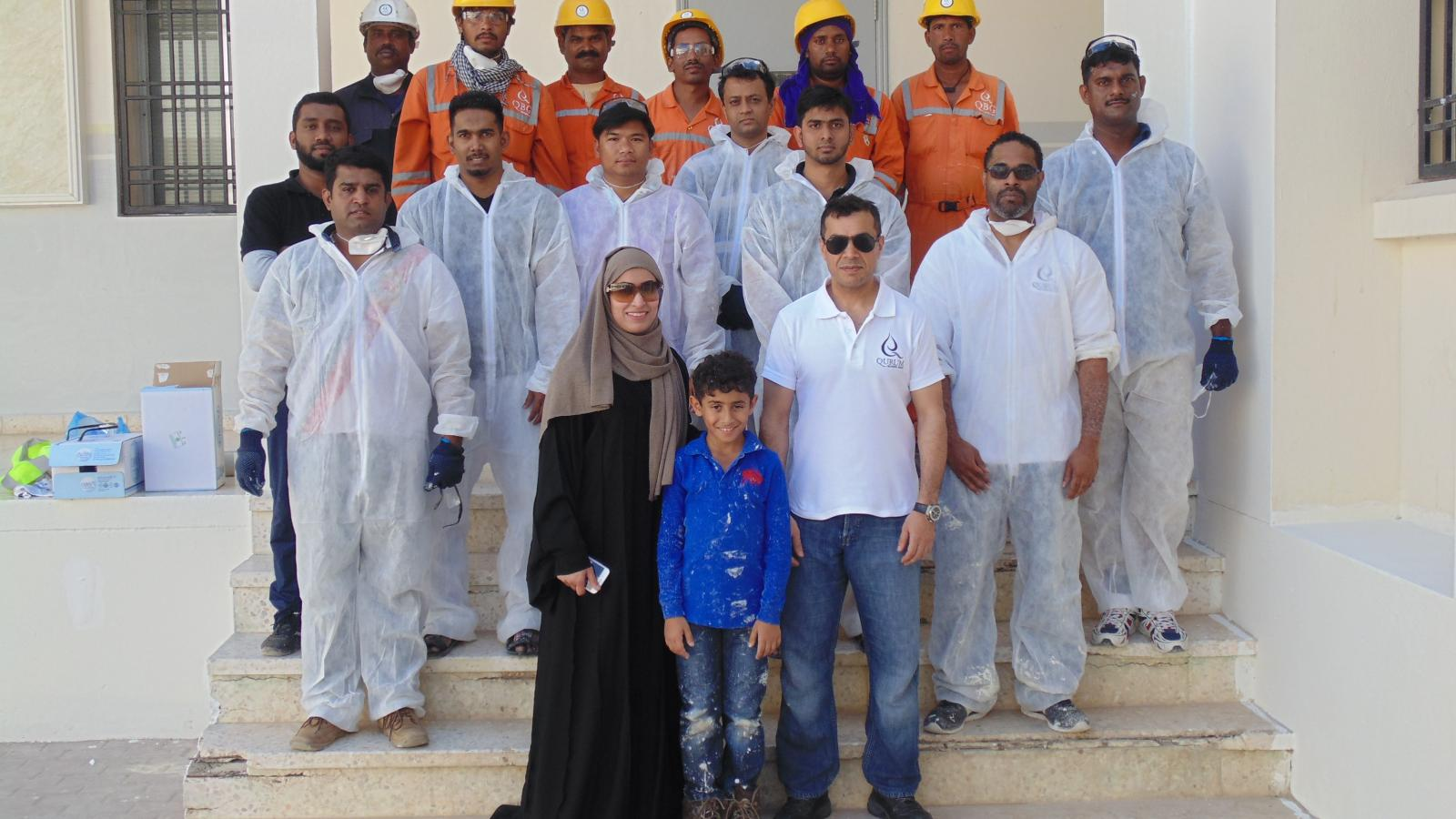QBG Echoes Launches First Community Outreach Project From Al Khabourah