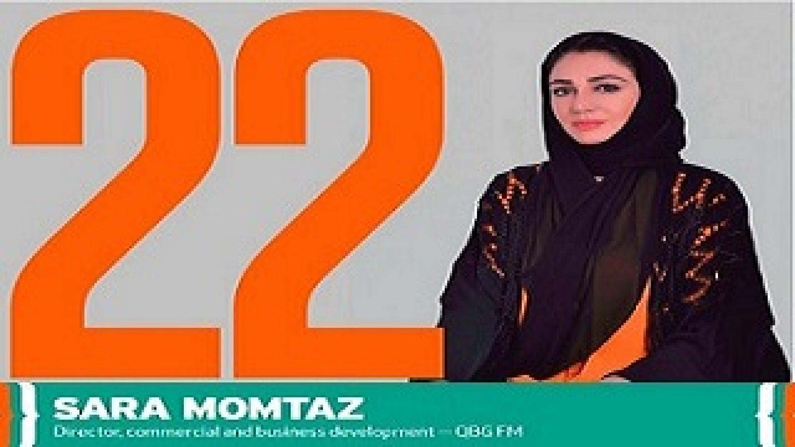 QBG's Commercial & Business Development Director, Sara Momtaz, among the 50 most influential FM Professionals in the Middle East
